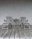 Lounge Chairs on Deck by Madeleine Forsberg