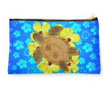 Honu Hawaiian Nautical Map Studio Pouch