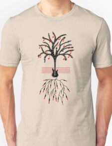 Guitar tree black T-Shirt