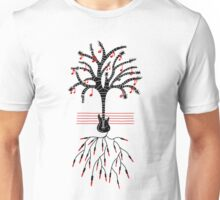 Guitar tree black Unisex T-Shirt