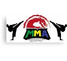 Brazilian MMA  Canvas Print