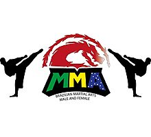 Brazilian MMA  Photographic Print