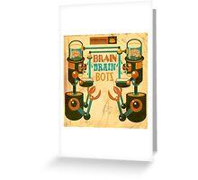Braindrain Greeting Card