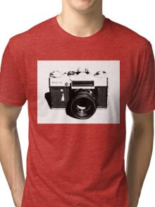 Old Camera Tri-blend T-Shirt