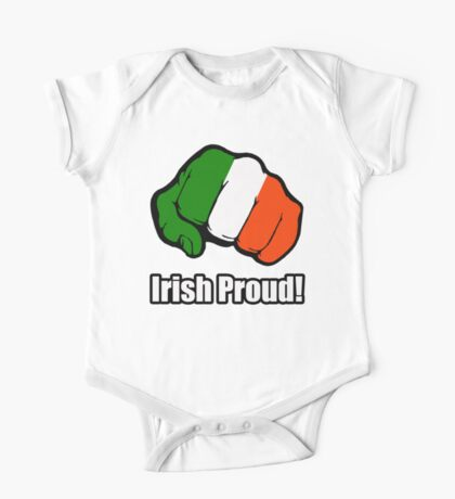 Irish Proud One Piece - Short Sleeve