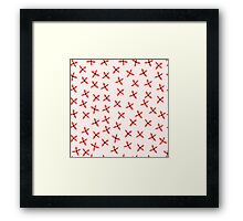 Flower Garden 014 Framed Print