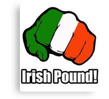 Irish Pound Canvas Print