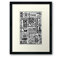 hiphop 2 Framed Print