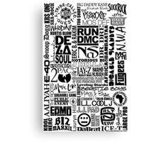 hiphop 2 Canvas Print