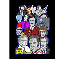 Will Ferrell collage art tribute Photographic Print