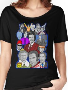 Will Ferrell collage art tribute Women's Relaxed Fit T-Shirt