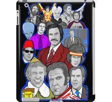 Will Ferrell collage art tribute iPad Case/Skin