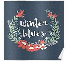 Winter Blues 001 Poster