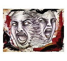 Troubled Minds Photographic Print