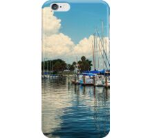 Summer Fun with Boats iPhone Case/Skin