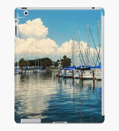 Summer Fun with Boats iPad Case/Skin