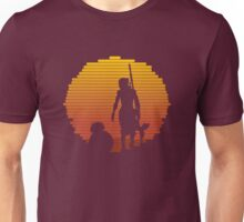 BB-8 & Rey : Jakku Sunset Unisex T-Shirt
