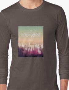 Welcome to NY Long Sleeve T-Shirt