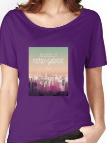 Welcome to NY Women's Relaxed Fit T-Shirt