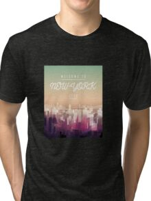 Welcome to NY Tri-blend T-Shirt