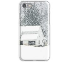 Wintry Homestead  iPhone Case/Skin