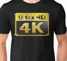 4K Ultra HD Unisex T-Shirt