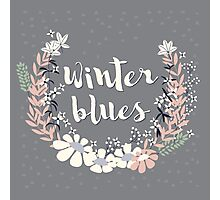 Winter Blues 003 Photographic Print