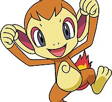 Chimchar Pokemon by azzambos