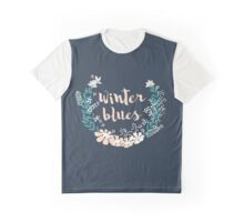 Winter Blues 004 Graphic T-Shirt