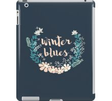 Winter Blues 004 iPad Case/Skin