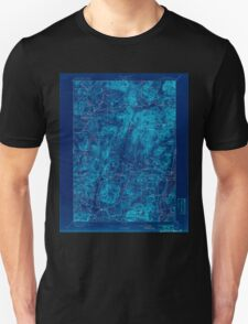 New York NY Schroon Lake 148458 1897 62500 Inverted T-Shirt