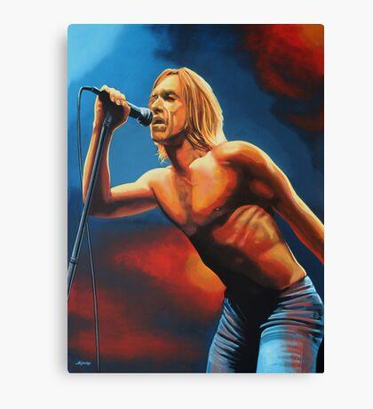 Iggy Pop Painting Canvas Print