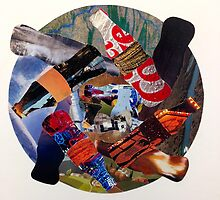 Recycling Collage by almostumeko