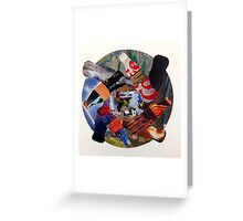 Recycling Collage Greeting Card