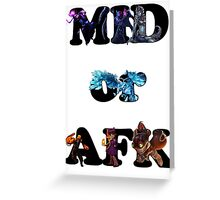 League of Legends - mid or afk Greeting Card