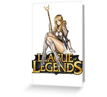 League of Legends - Lux Greeting Card