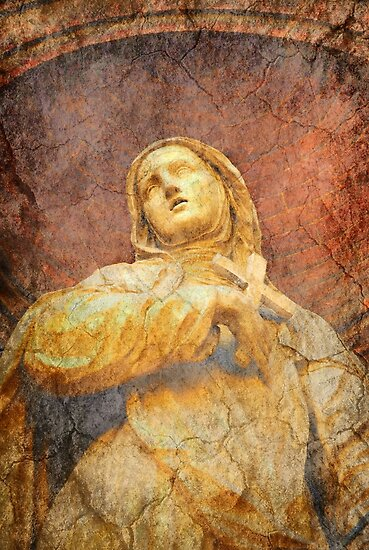 Saint Catherine of Siena by Madeleine Forsberg