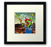Kermit the Party Frog Framed Print