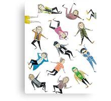 Harry Pattern Canvas Print