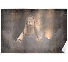 Santa Katarina of Siena Poster