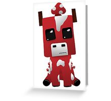 Little Mooshroom Greeting Card