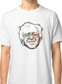 Bernie Sanders Portrait 3D Glasses 2016   Classic T-Shirt