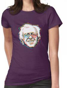 Bernie Sanders Portrait 3D Glasses 2016   Womens Fitted T-Shirt