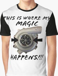 Turbo magic Graphic T-Shirt