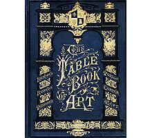 The Table book of Art design Photographic Print