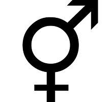 Transgender Symbol Design by crazedwithin