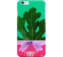 Fig Leaf Diamond Christmas - Other Half and Half iPhone Case/Skin
