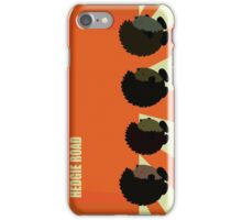 Hedgie road iPhone Case/Skin