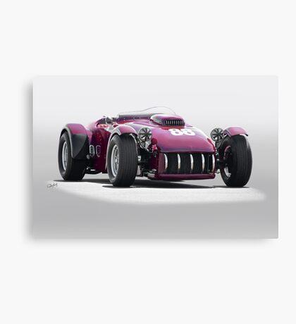 1953 Kurtis SS Vintage Racecar Canvas Print