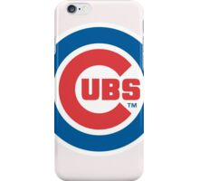 chicago cubs iPhone Case/Skin